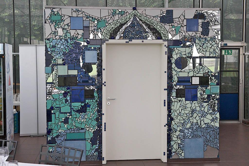 Mosaik Gwachshaus 02 Iris Rauh
